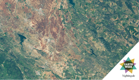 NASA Earth Observatory images by Lauren Dauphin, using Landsat data from the U.S. Geological Survey.
