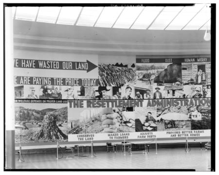 Resettlement Administration exhibit